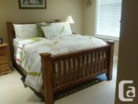 """Queen Bedroom Suite  Queen Wood Head Board 63"""" W x 50"""""""