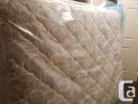 Sealy posturepedic queen mattress and box spring in