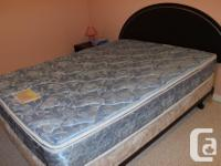 I have a set of queen mattress, box-spring and frame