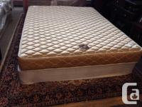 very clean and very comfy queen size bed mattress and