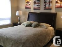 This queen size set is sold with matterace, two night