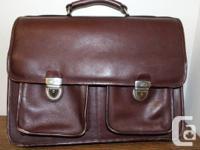 Queros  Brief case  Leather bag   Men's   Original