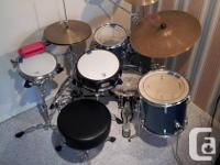 Questlove Breakbeats by Ludwig full drum kit. Like new