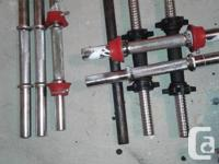 Have some dumbbell rods ranging in price from $5 to $10