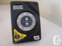 Qwik Time QT-3 Quartz Metronome. 9 volt battery