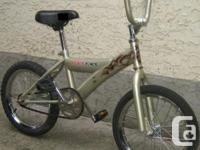 "Raceface BMX - with 16"" tires This bike, like all the"
