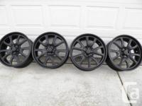 Raceline GT wheels, New powder coat (9/17/2013.$799