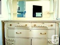 Rachel Ashwell Shabby Chic Sideboard. Very soft creamy