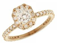 9nl. us/ring085.  Spectacular Radiant and Round Cut