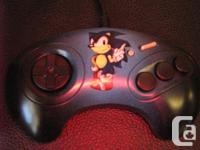 A custom airbrushed/handbrushed Sega genesis controller