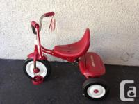 Radio Leaflet tricycle in terrific shape. Design # 66.