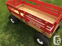 With sturdy, all-steel construction, rugged air tires
