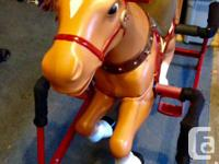 beautiful and durable. Larger size bouncy horse. Very