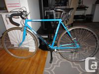 Selling an adult size RALEIGH 12 speed road bike in
