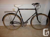 Selling a quality RALEIGH 6 speed cruiser road bike in