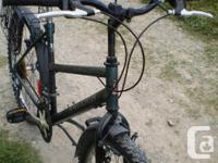 Raleigh CliffHanger 18 inch 15-speed bike has been