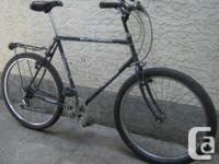 Raleigh - Matterhorn-tall frame with 26 inch tires This