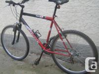 Raleigh - Matterhorn - tall frame with front suspension