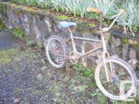 Here is a Raleigh Pro-Track old school bmx. It was made