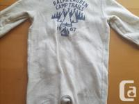 GUC High end baby suit bough brand new. Wood toggle