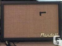 Randall 2x12 model R212CP. The cab is in good