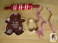 Array of 5 Christmas Cooking products - All for $5.00.
