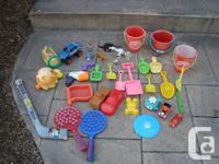Selection of 36 Outdoor Coastline or Sand box / Aquifer