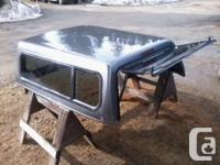 Metallic Grey lined canopy that fits 1999-2007 Ford