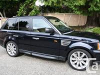 2008 Range Rover Supercharged SUV, 4.2 L  V8 engine