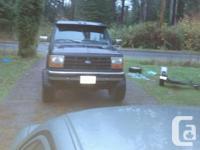 Make. Ford. Model. Ranger. Year. 1990. Colour. black.