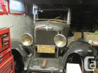 Make Chevrolet Year 1929 Colour gray Trans Manual kms