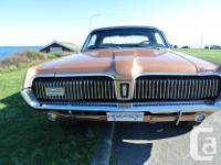Make Mercury Model Cougar Year 1967 Colour Cinnamon