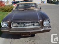 Make Ford Model Mustang Year 1974 Colour Brown kms