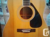 Rare 1981 Yamaha FG 345II In near mint condition set up