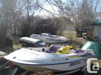 1996 Shuttle Craft and 1996 3 seater Seadoo GTI that