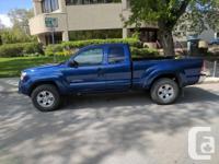 Make Toyota Model Tacoma Year 2014 Colour Blue kms