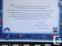 Rare 25th Anniversary Star Trek Collectors Edition