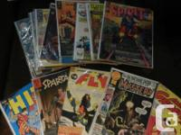 I have 39 comics in very good condition and all valued