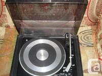Classic Panasonic Automatic Turntable Model SL-575 with
