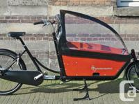 Selling my beloved DUTCH Bakfiets Cargo Bike, the