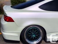 Make Acura Model RSX Colour White Trans Manual kms