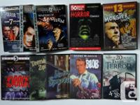 Rare collection of 53 Vintage Horror Classics and