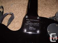 20th Anniversary M-50 Year 2003, Black.Telecaster Style