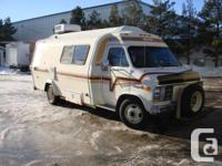 RARE - For Sale: 1981 Vanguard Wide body Motorhome Chev