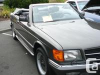 Make Mercedes-Benz Model 500SEC Year 1984 Trans