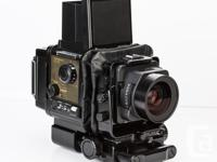 Rare Fujifilm GX680 6x8cm Medium Format Camera Outfit
