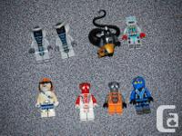These are 8 Lego mini-figures all in great condition.