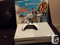 Limited edition white sunset overdrive Xbox one console