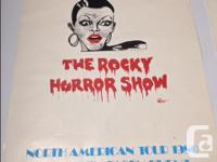 Rare Rocky Horror Picture show poster North American