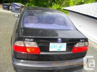 Make Saab Model 9-5 Year 2000 Colour Black kms 169000, used for sale  British Columbia